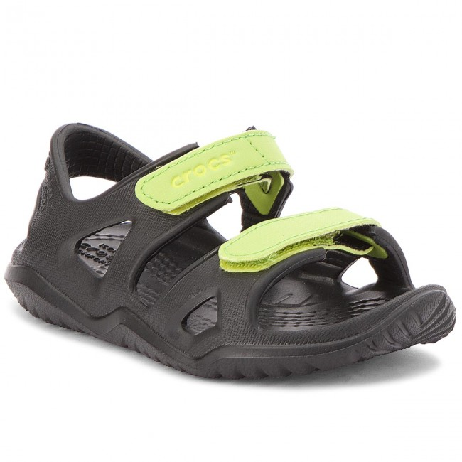 Girls Toddlers Crocs Kids Swiftwater Expedition Sandal Water Shoes for Boys