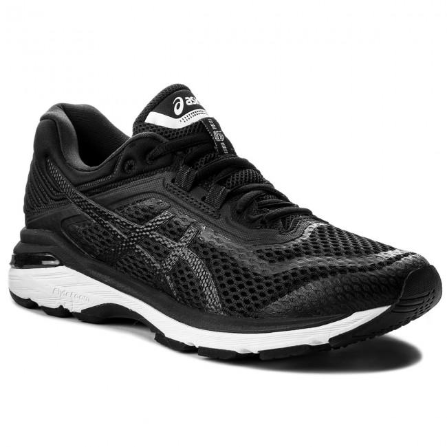 Shoes ASICS GT 2000 6 T805N BlackWhiteCarbon 9001