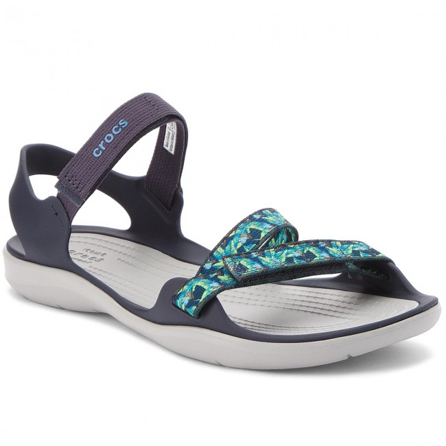 Crocs Swiftwater Webbing Sandal Navy