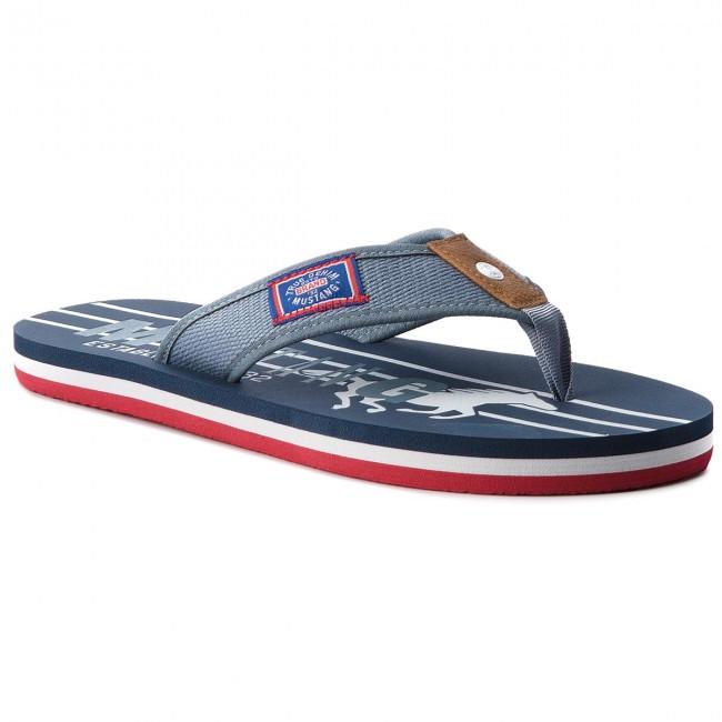 Slides MUSTANG - 42A065 Blue