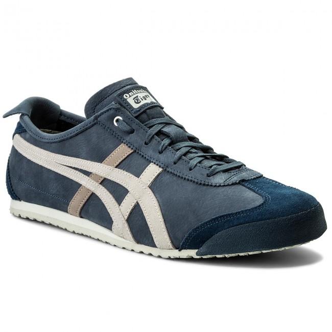 Sneakersy ASICS ONITSUKA TIGER Mexico 66 1183A198 BlackCaravan 001 eobuwie.pl