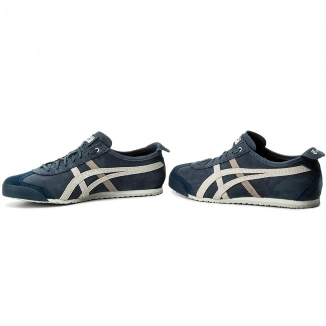 onitsuka tiger mexico 66 dark blue vaporous grey gray zip