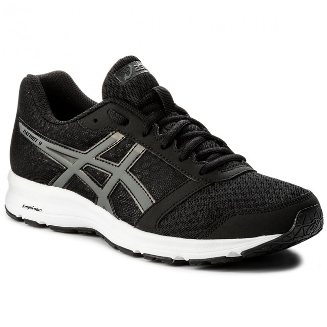 revolución ropa Empresario  Shoes ASICS - Patriot 9 T823N Black/Carbon/White 9097 - Indoor - Running  shoes - Sports shoes - Men's shoes | efootwear.eu