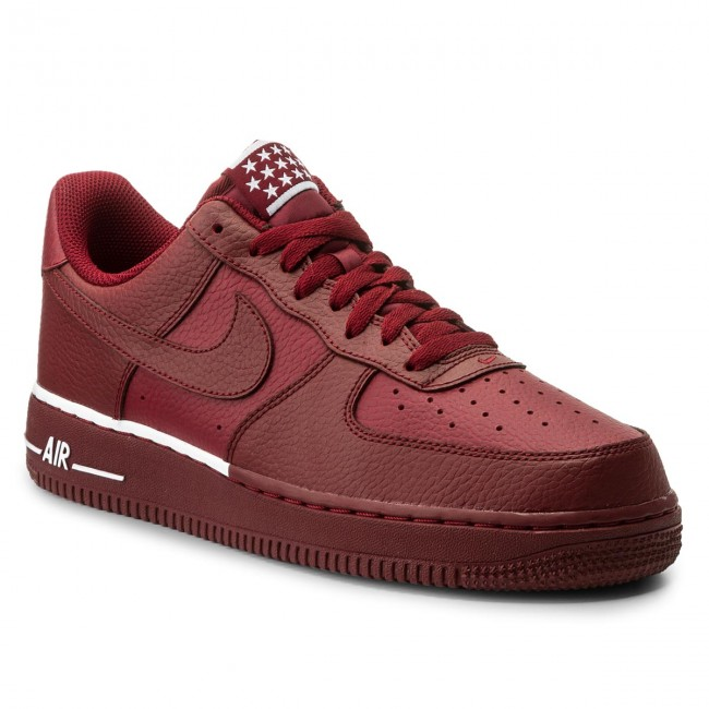 Shoes NIKE Air Force 1 '07 AA4083 600 Team RedTeam RedWhite