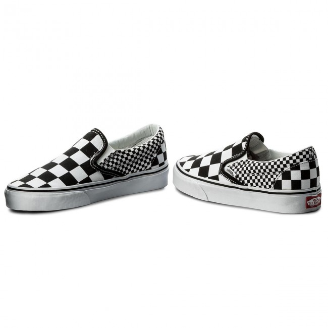 SOLE FLY Vans Mix Checker Old Skool | Black True
