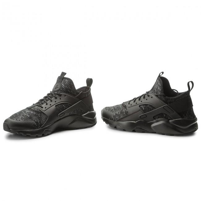 Shoes NIKE Air Huarache Run Ultra Se 875841 006 BlackBlackDark Grey