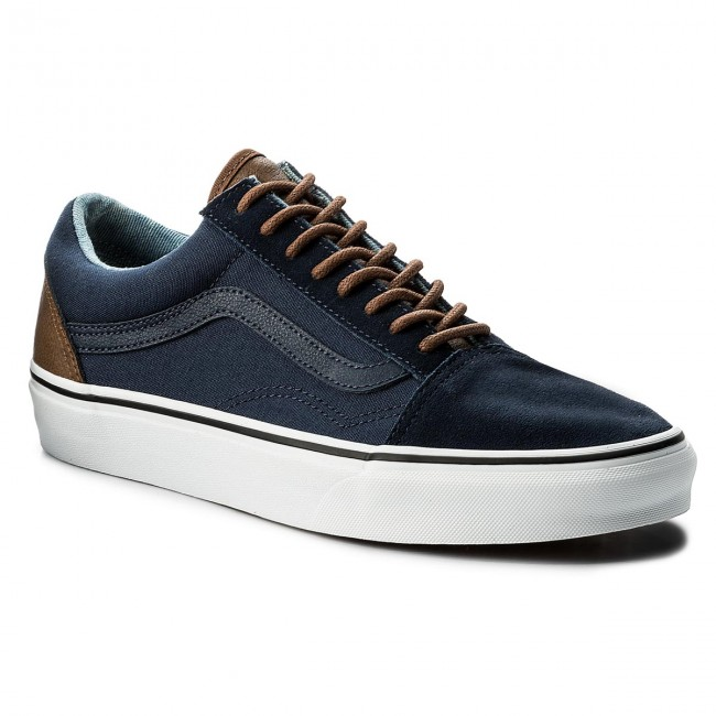 Plimsolls VANS - Old Skool VN0A38G1Q6Z Dress Blues/Acid De