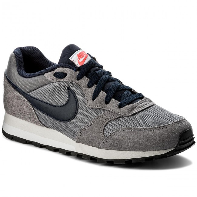 Shoes NIKE Md Runner 2 749794 007 GunsmokeQbsidianHot Punch