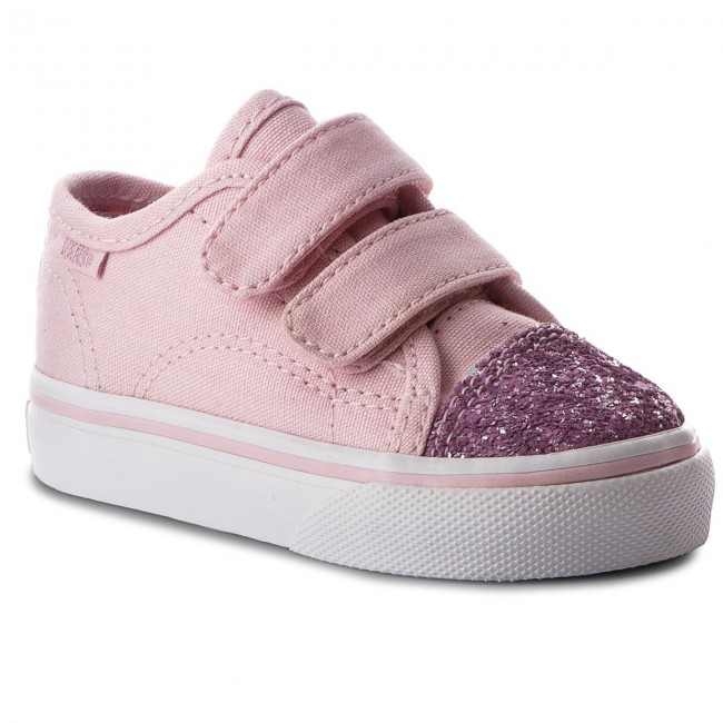 Shoes VANS - Style 23 V VN0A3JEVQ8G (Glitter Toe) Chalk Pink