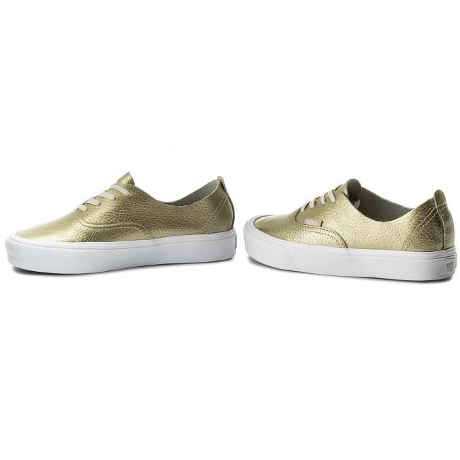 Plimsolls VANS Authentic Decon VN0A38ERJYQ (Leather) Gold