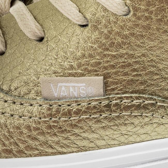 Vans Authentic shoes gold brown