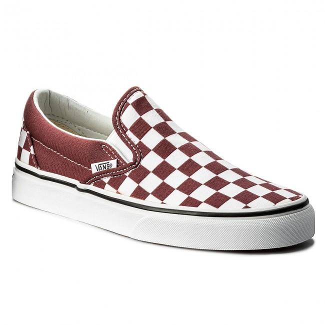 ec3f62f8 Plimsolls VANS - Classic Slip-On VN0A38F7QCJ (Checkerboard) Apple Butt -  Sneakers - Low shoes - Women's shoes - efootwear.eu
