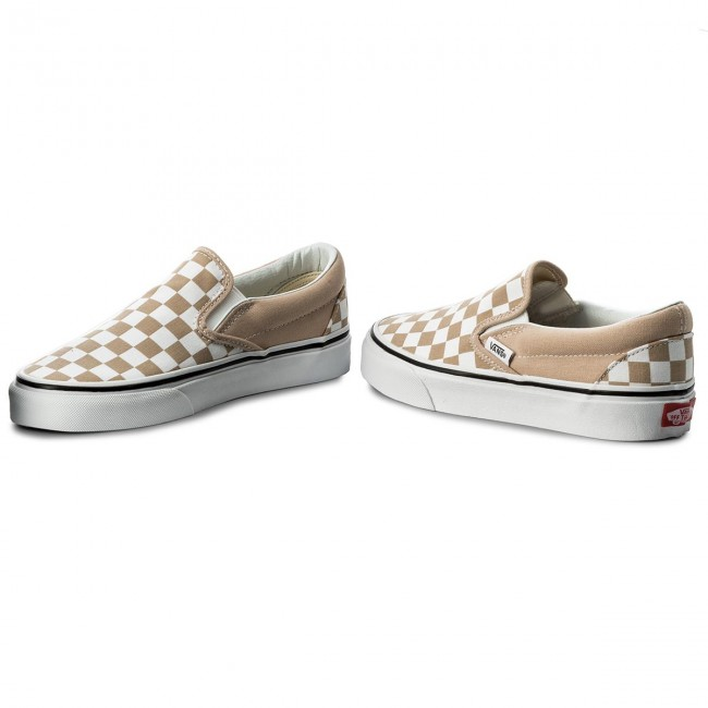 Turnschuhe VANS Classic Slip On VN0A38F7QCO (Checkerboard) FrappeTru