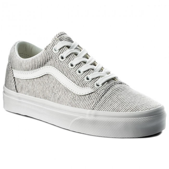 Vans Old Skool jersey grey Damen Schuhe grau