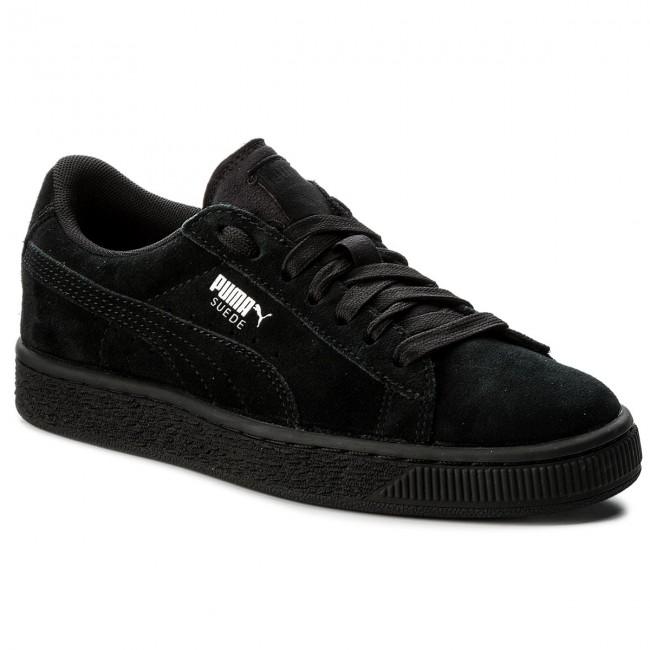 Sneakers PUMA Suede Jr 355110 52 BlackPuma Silver