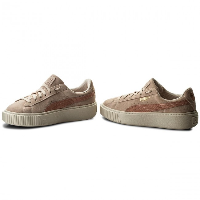 Sneakers PUMA Platform Snk Jr 363906 06 PearlPeach Beige