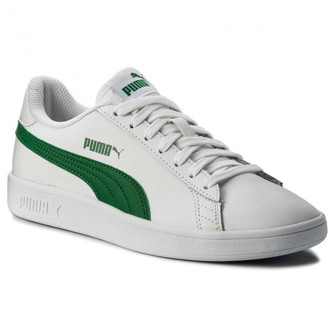 d478b9d97fa3c Sneakers PUMA - Smash Vl L 365215 03 Puma White/Amazon Green