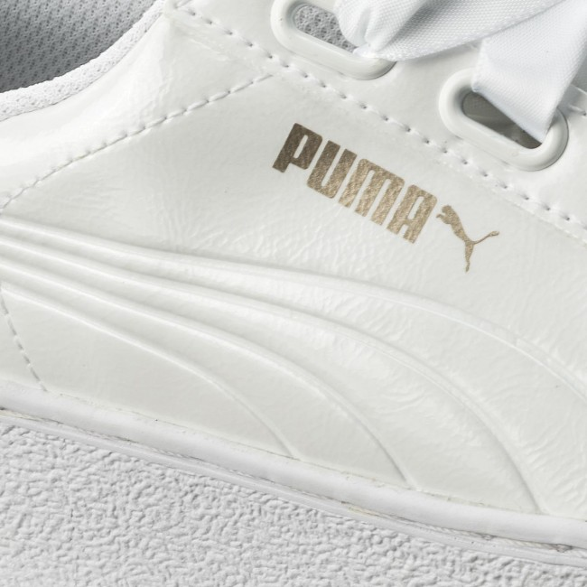 Sneakers PUMA Vikky Platform Ribbon P 366419 02 Puma White