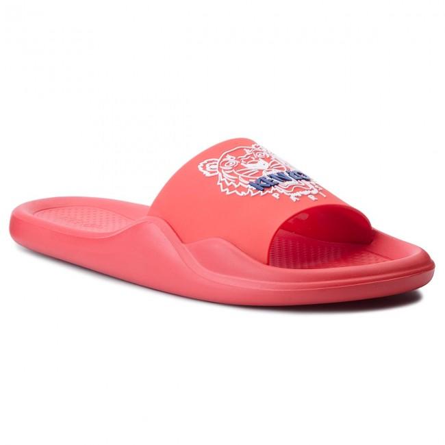 Slides KENZO - F855SD104P71 Rouge Moyen 21