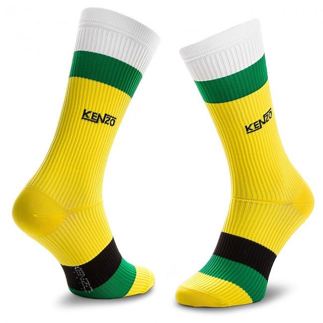 Men's High Socks KENZO - 8SM210 JSY Lemon 39