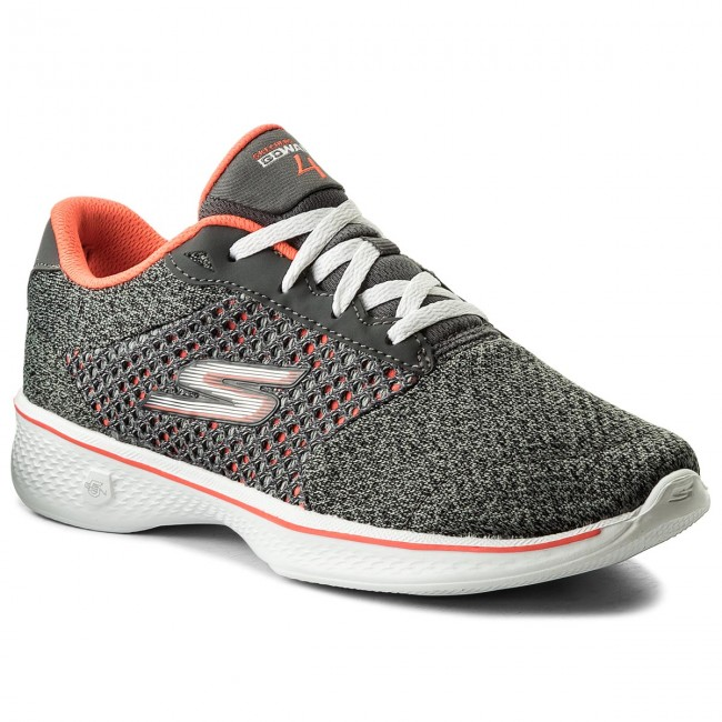 Shoes SKECHERS - Exceed 14146/CCCL Charcoal/Coral