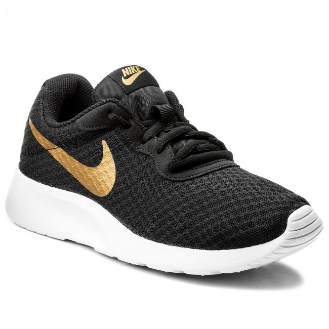 Shoes NIKE - Tanjun 812655 004 Black/Metallic/Gold