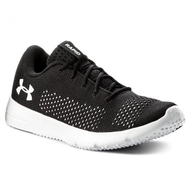 Shoes UNDER ARMOUR - Ua W Rapid 1297452-001 Blk/Wht/Wht
