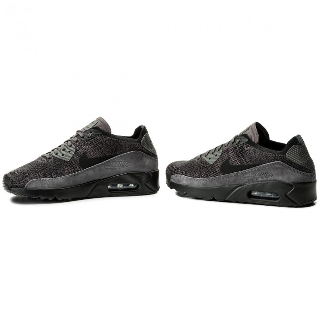 Lifestyle – Nike Air Max 90 Ultra 2.0 Flyknit Womens BlackDark GreyWhite