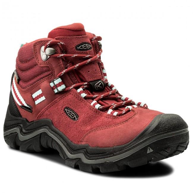 Trekker Boots KEEN -  Wanderer Mid Wp 1014765 Chili Pepper/Gargoyle