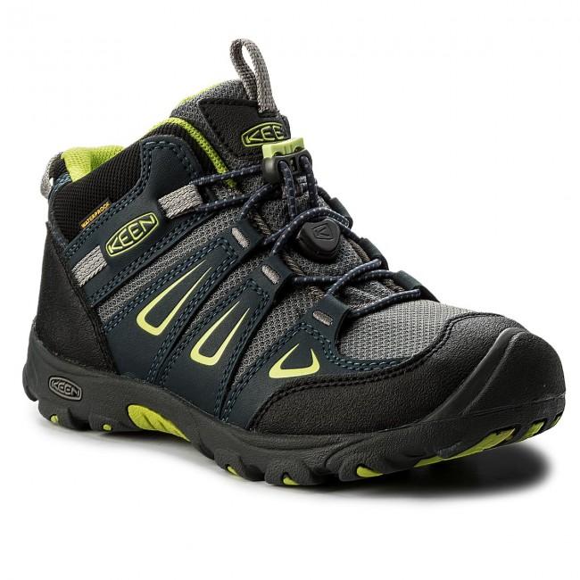 Trekker Boots KEEN - Oakridge Mid Wp 1015181 Midnight Navy/Macaw