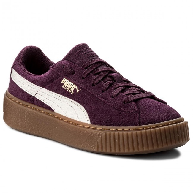 Sneakers PUMA - Platform Snk Jr 363906 03 Dark Purple/Marshmallow