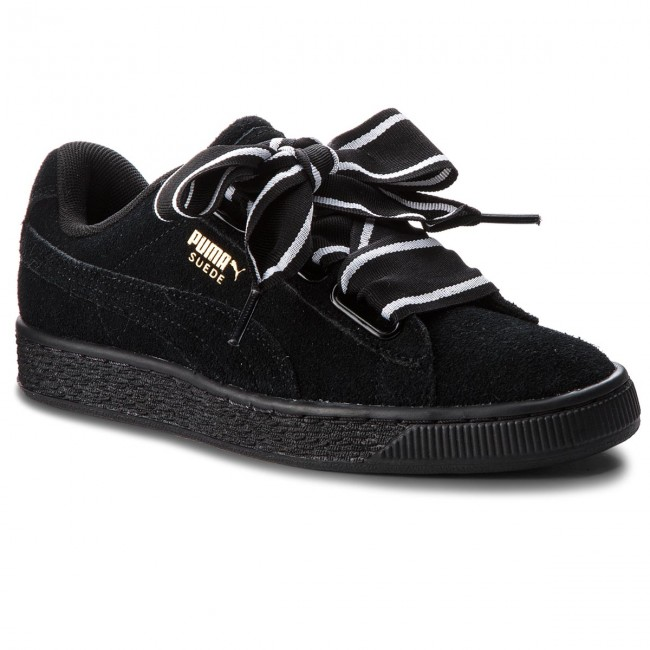 Sneakers PUMA - Suede Heart Satin II 364084 01 Puma Black