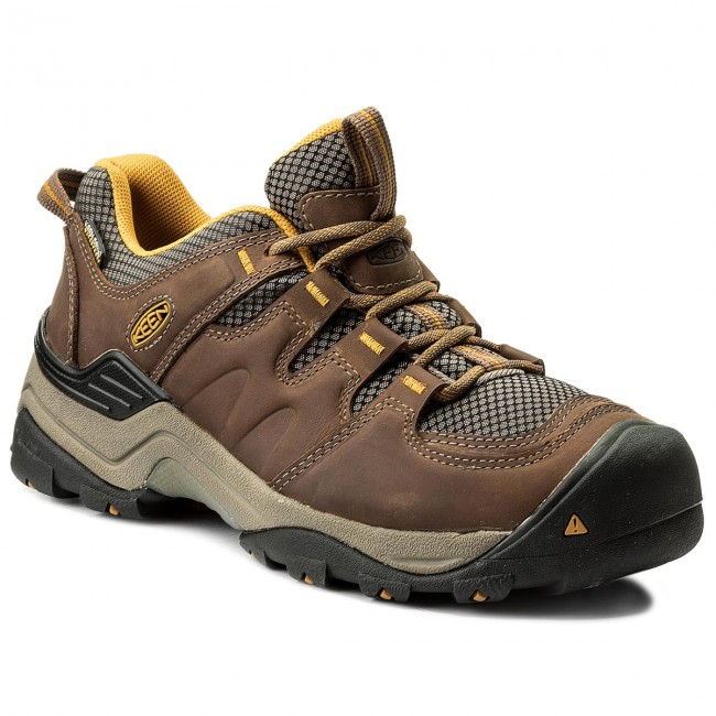 Trekker Boots KEEN - Gypsum II Wp 1016765 Shitake/Golden Yellow