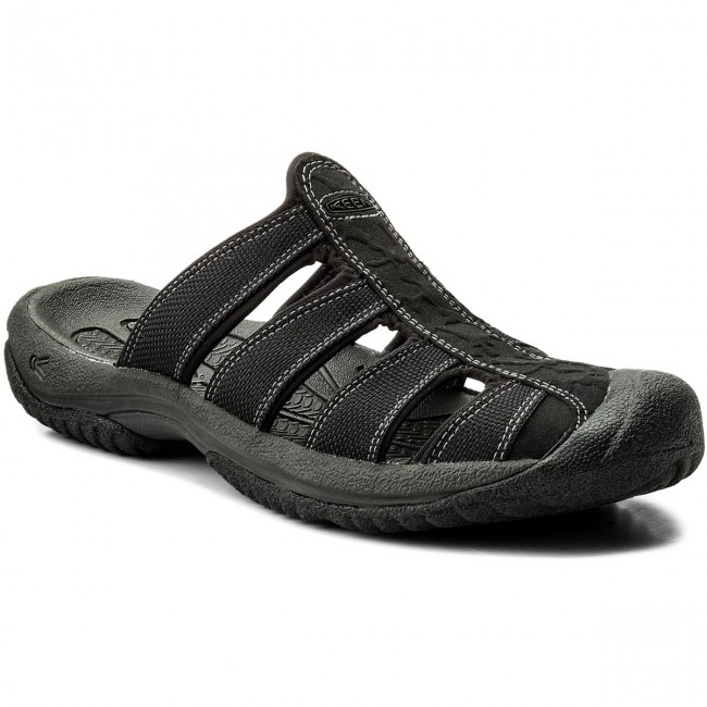 Slides KEEN - Aruba II 1016792 Black/Gargoyle