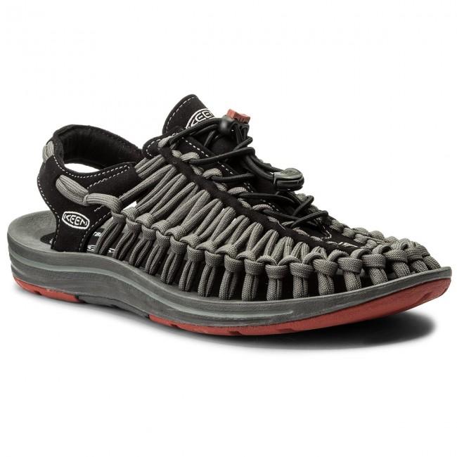 Sandals KEEN - Uneek Flat 1016899 Black/Bossa Nova
