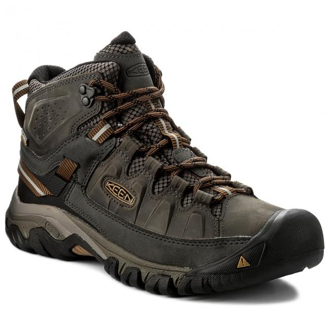 Trekker Boots KEEN - Terghee III Mid Wp 1017787 Black Olive/Golden Brown