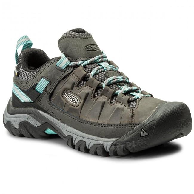 Trekker Boots KEEN - Targhee III Wp 1018154 Alcatraz/Blue Turquoise