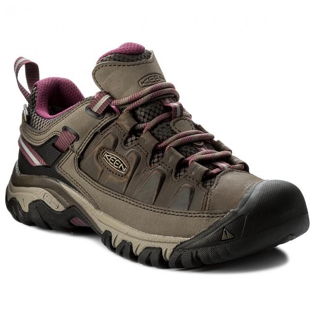 Trekker Boots KEEN - Targhee III Wp 1018177 Weiss/Boysenberry