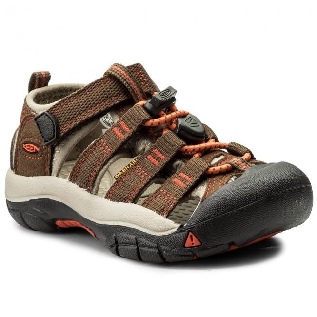 Sandals KEEN - Newport H2 1018259 Dark Earth/Spicy Orange