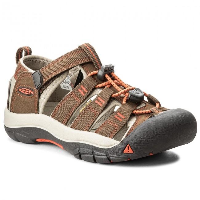 Sandals KEEN - Newport H2 1018248  Dark Earth/Spicy Orange