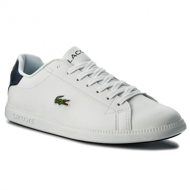 Sneakers LACOSTE - Graduate 118 1 Qsp Spm 7-35SPM0051042 Wht/Nvy