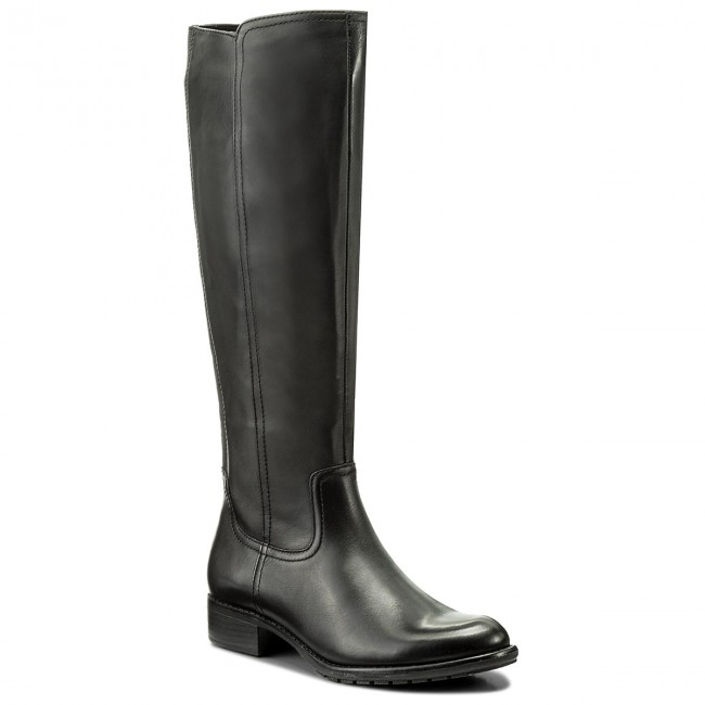 Knee High Boots TAMARIS - 1-25577-39 Black 001