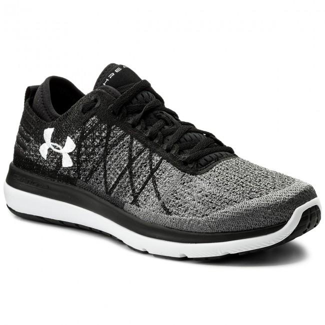 Shoes UNDER ARMOUR - Ua Threadborne Fortis 1295734-001 Blk/Sty/Wht