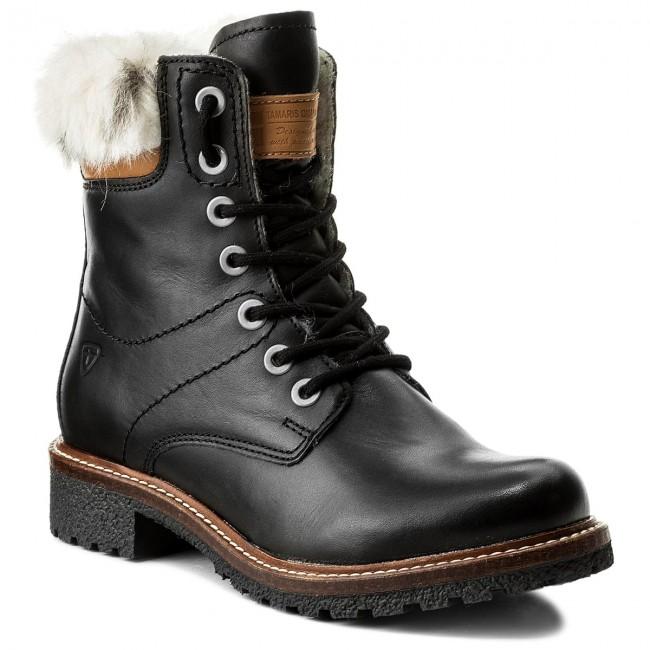 Hiking Boots TAMARIS - 1-26271-29 Black 001