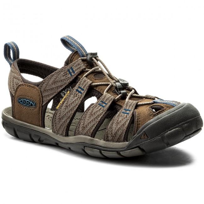 Sandals KEEN - Clearwater Cnx 1018495 Dark Earth/Blue Opal