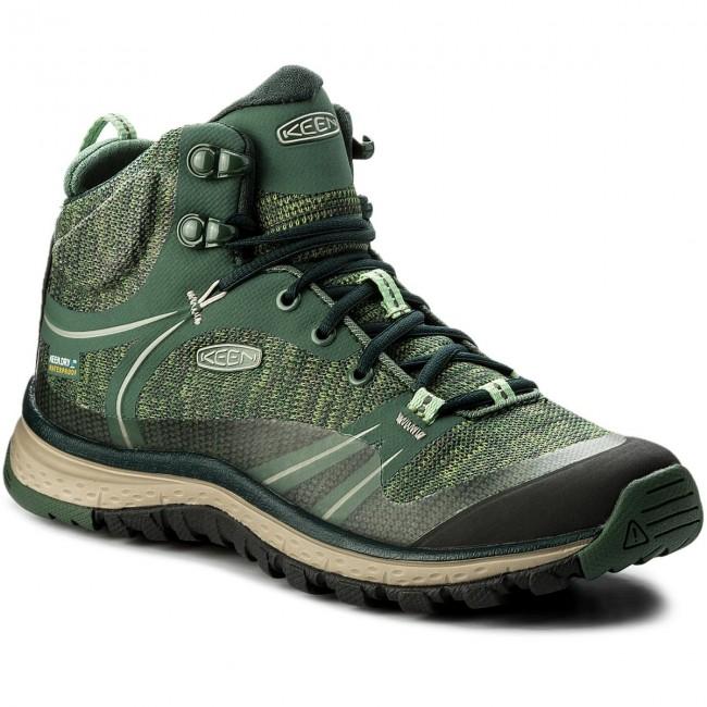 Trekker Boots KEEN - Terradora Mid Wp 1018525 Duck Green/ Quiet Green