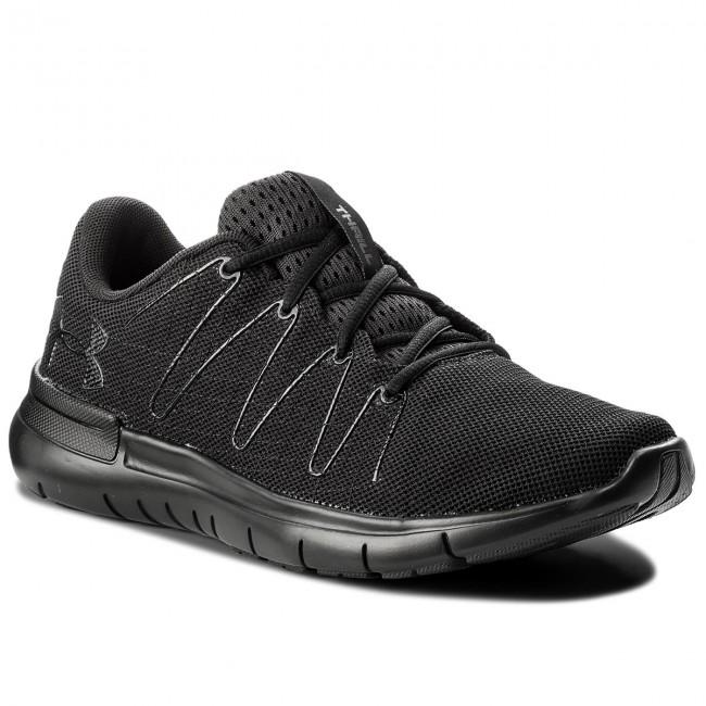 Shoes UNDER ARMOUR - Ua Thrill 3 1295736-003 Noir/Noir/Noir