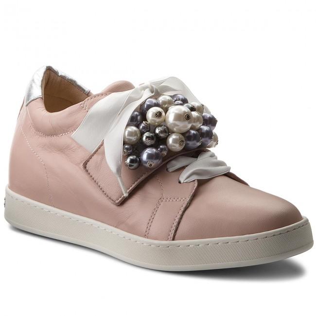 Sneakers PETER KAISER - Lusann 31133/482 Powder Samoa Silber Corfu Weiss Perle