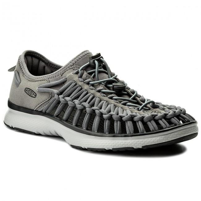 Sandals KEEN - Uneek 02 1018719 Steel Grey/Raven