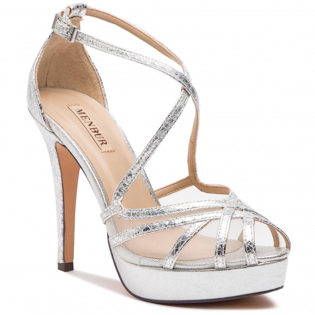 Sandals MENBUR - 07463 Plata/Silver 0009